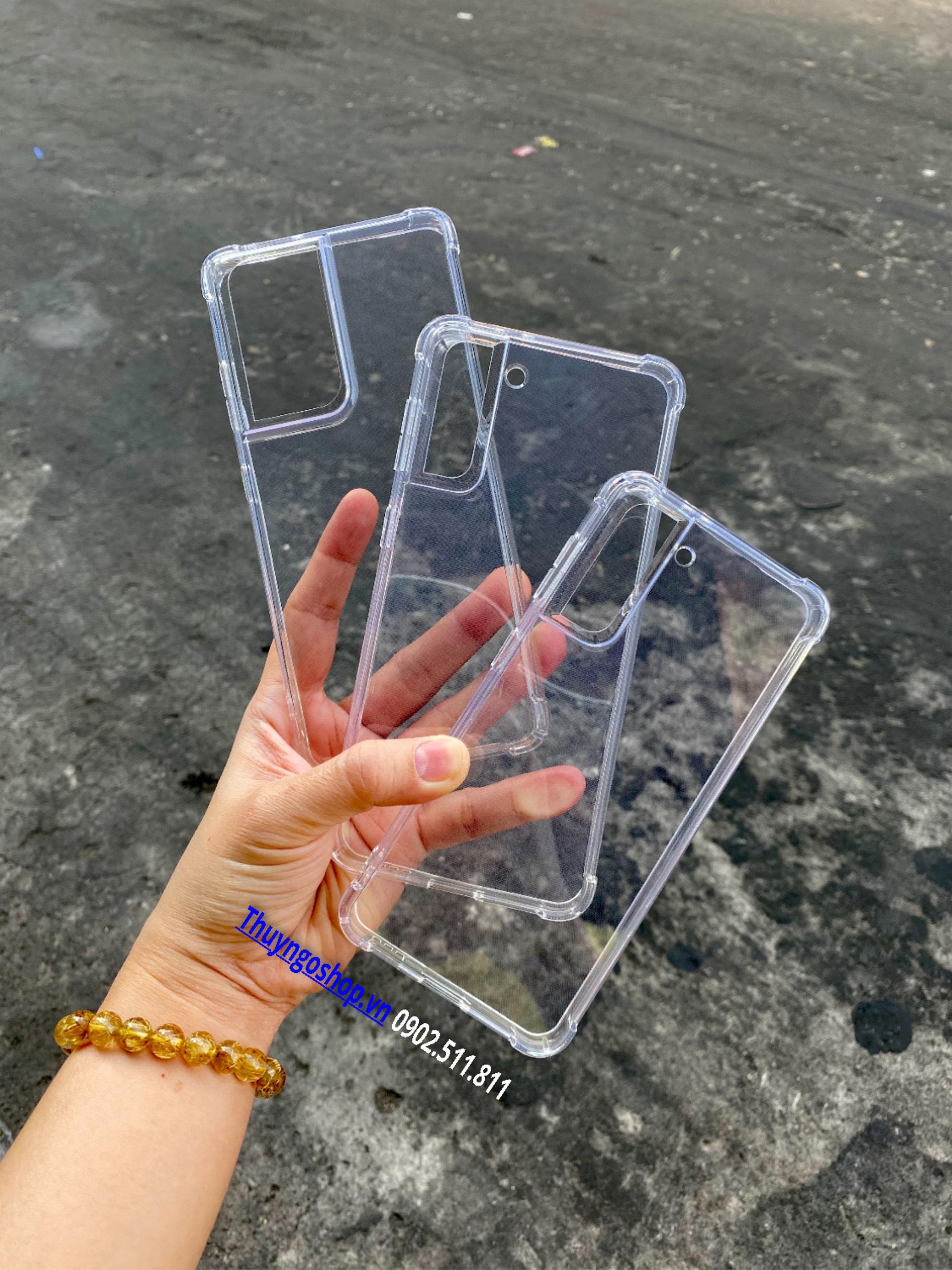 Ốp dẻo chống sốc LEEU Samsung S21 Ultra