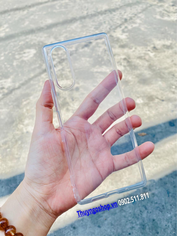 Ốp Silicon mỏng Sony Xperia 5
