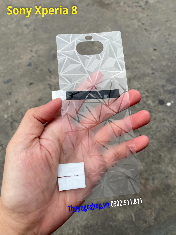 Dán mặt lưng 3D Kim cương Sony Xperia 8