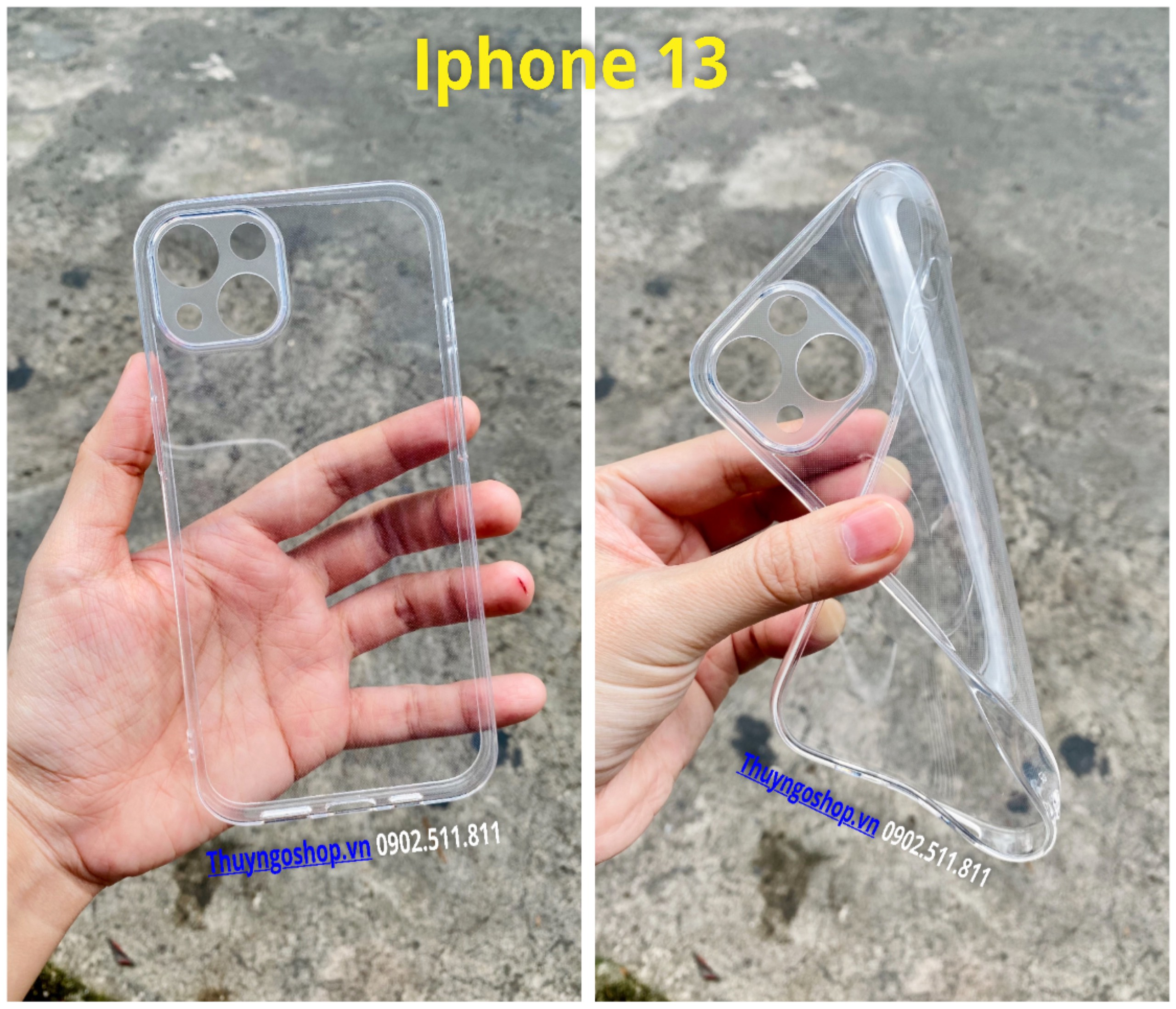 Ốp silicon full camera Iphone 13