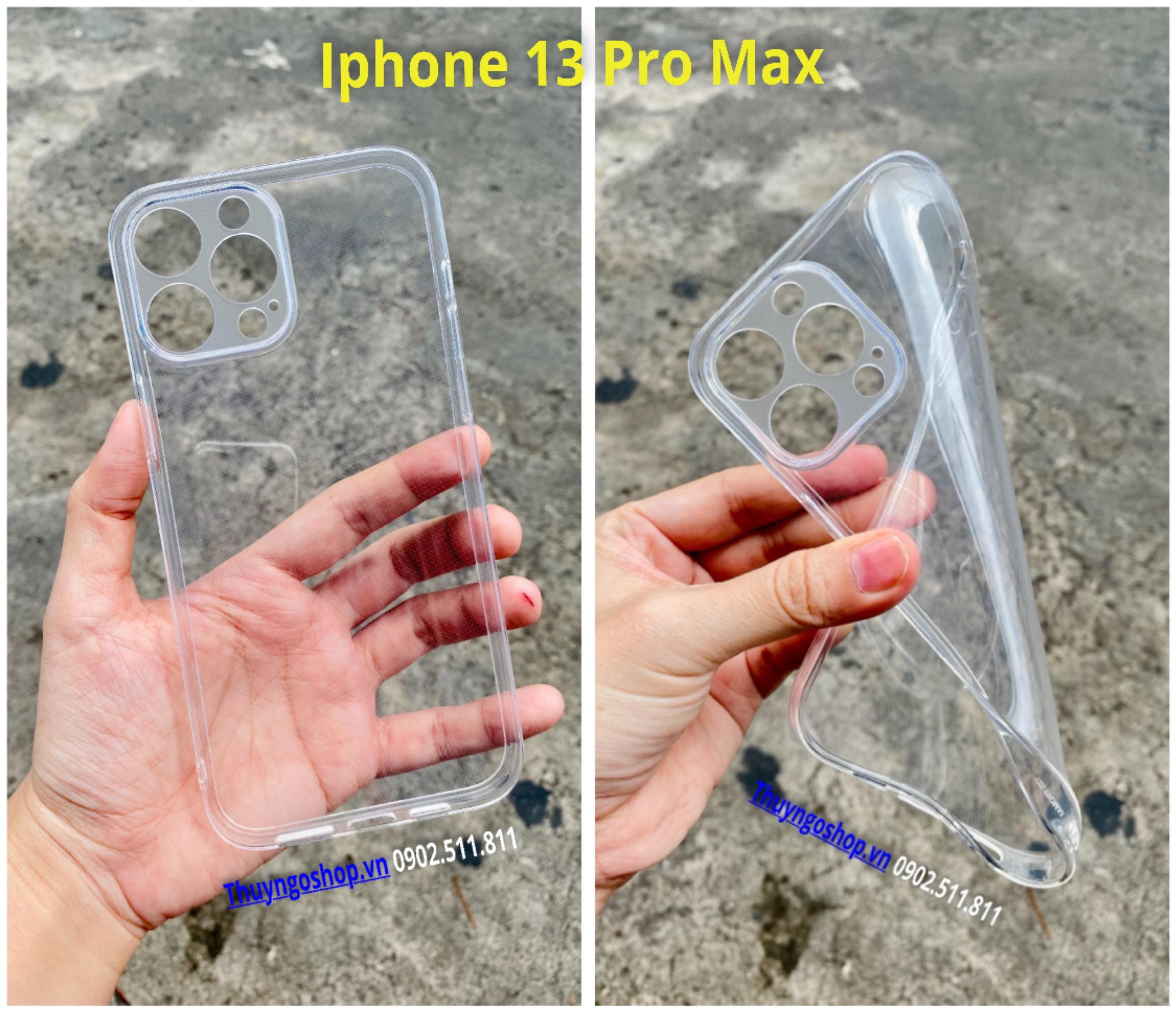 Ốp silicon full camera Iphone 13 Pro Max