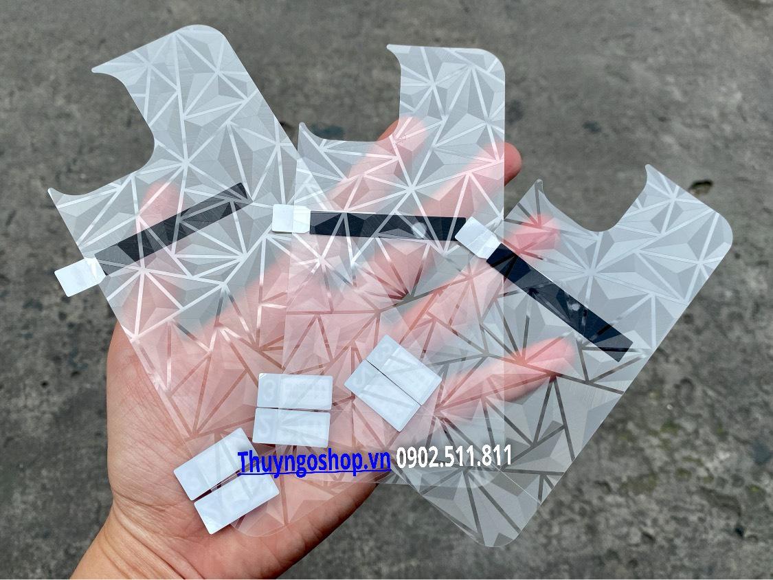 Dán mặt lưng 3D Kim Cương Iphone 12 Mini