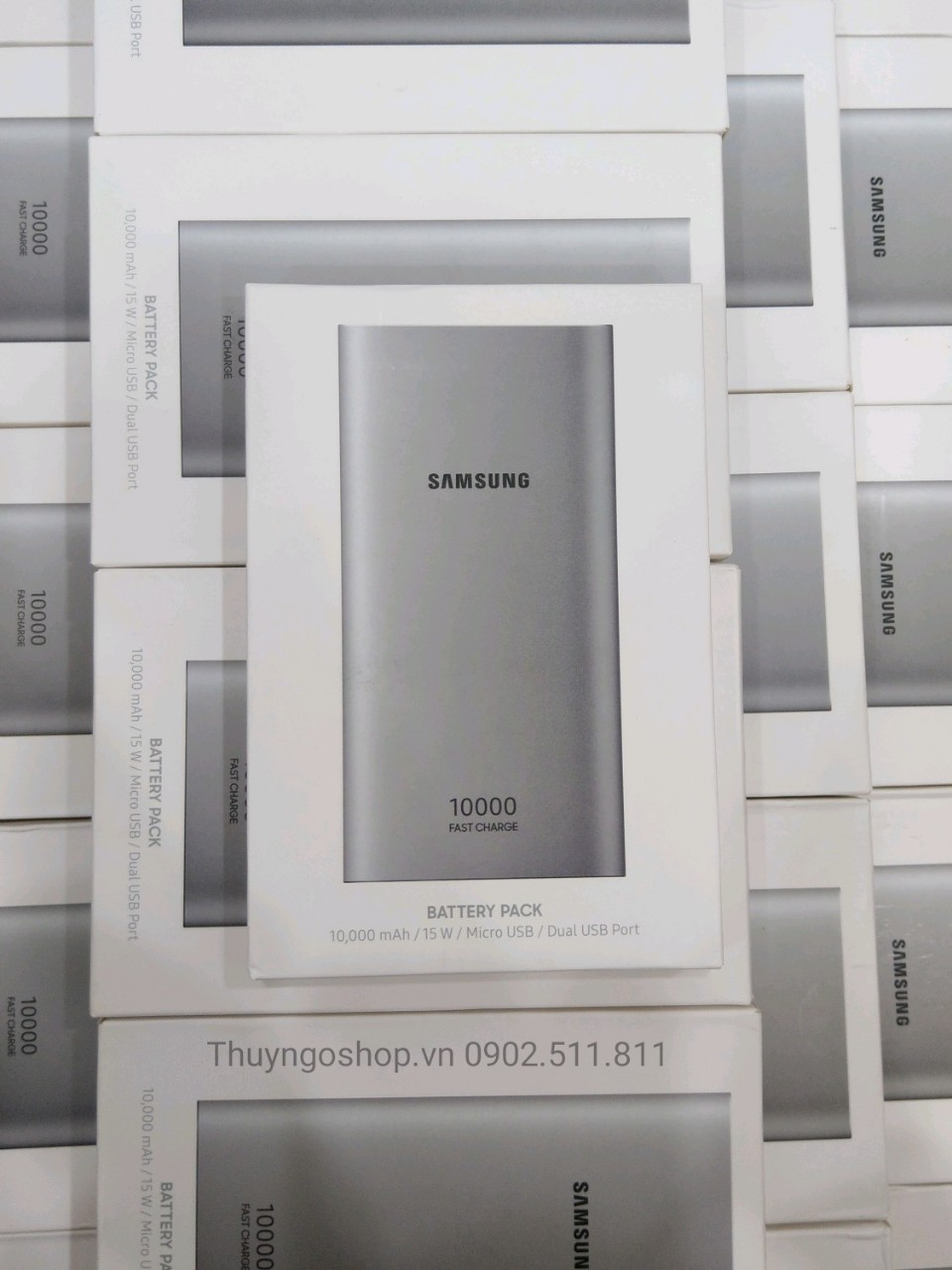Pin dự phòng 10.000mah Fast Charge chính hãng Samsung