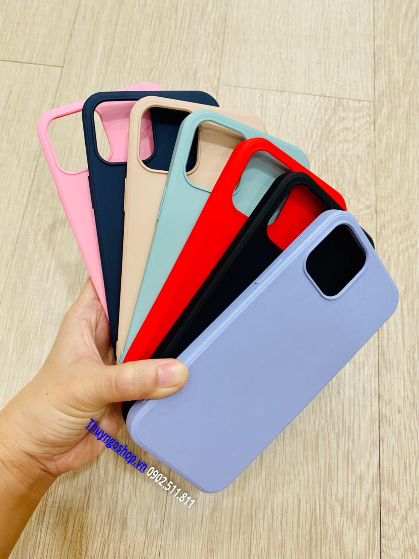 Ốp lưng Silicon siêu mịn X-Level Iphone 12 Mini