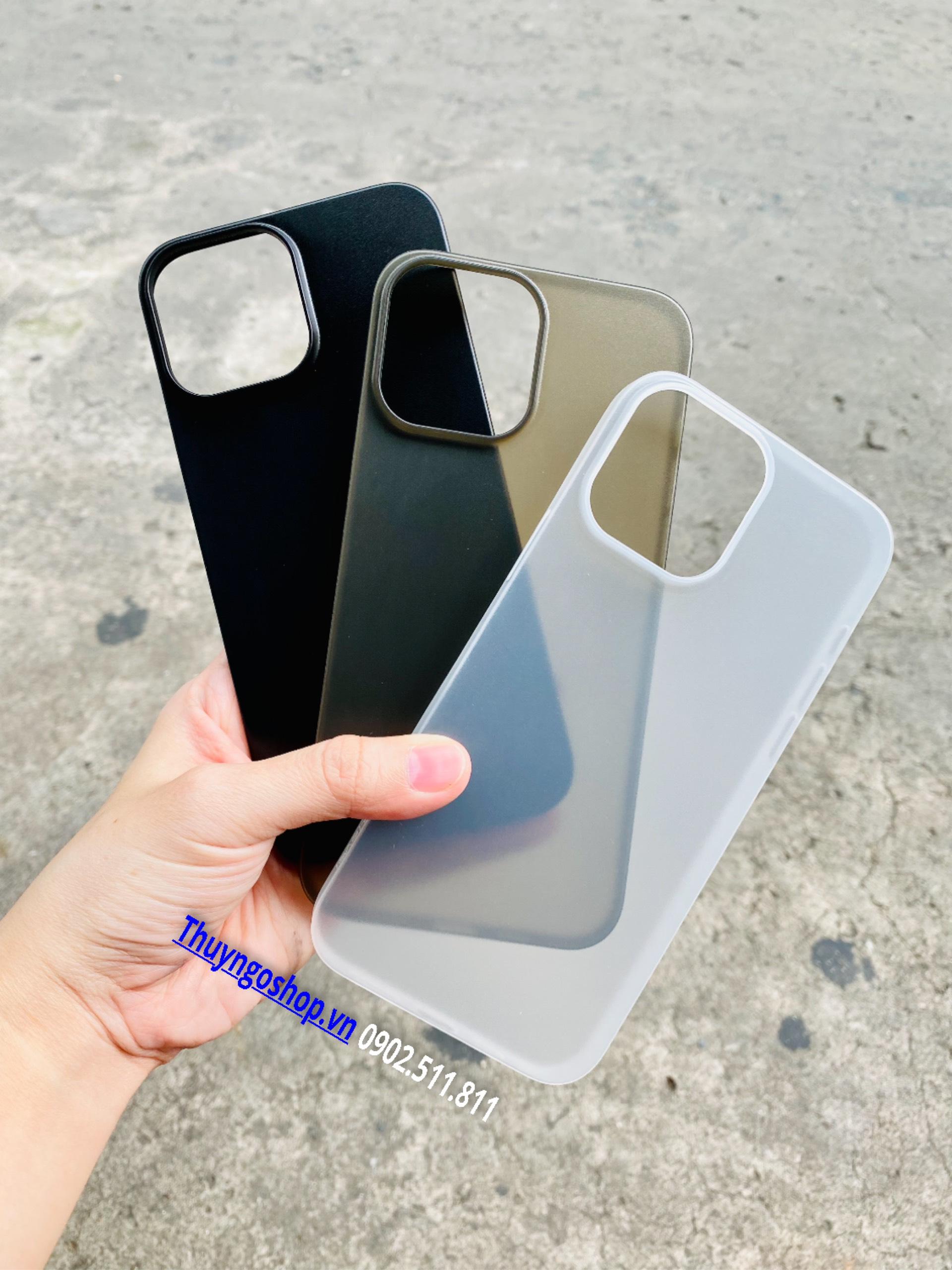 Ốp lưng nhám siêu mỏng 0.18mm X-Level Iphone 13