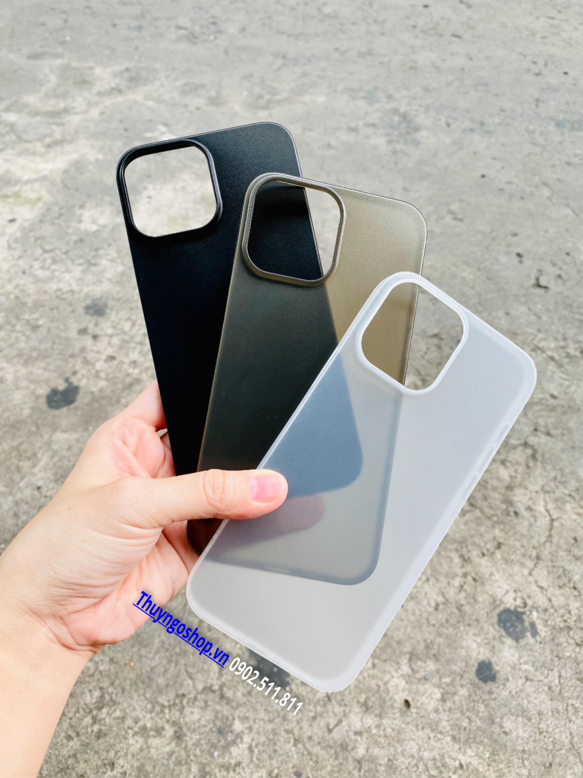 Ốp lưng nhám siêu mỏng 0.18mm X-Level Iphone 13 Pro