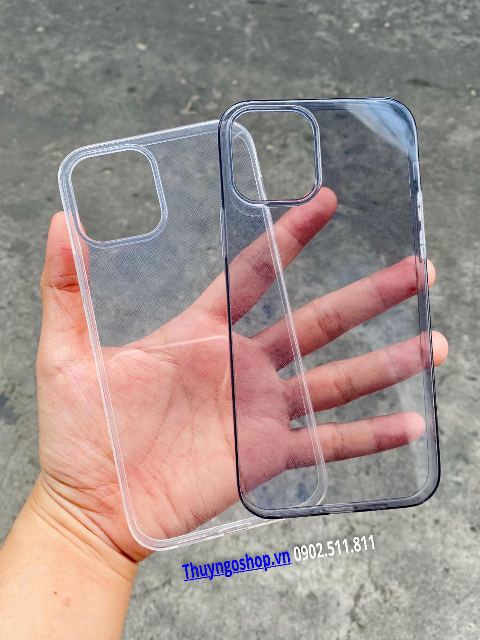 Ốp silicon dẻo siêu mỏng iphone 12 Mini