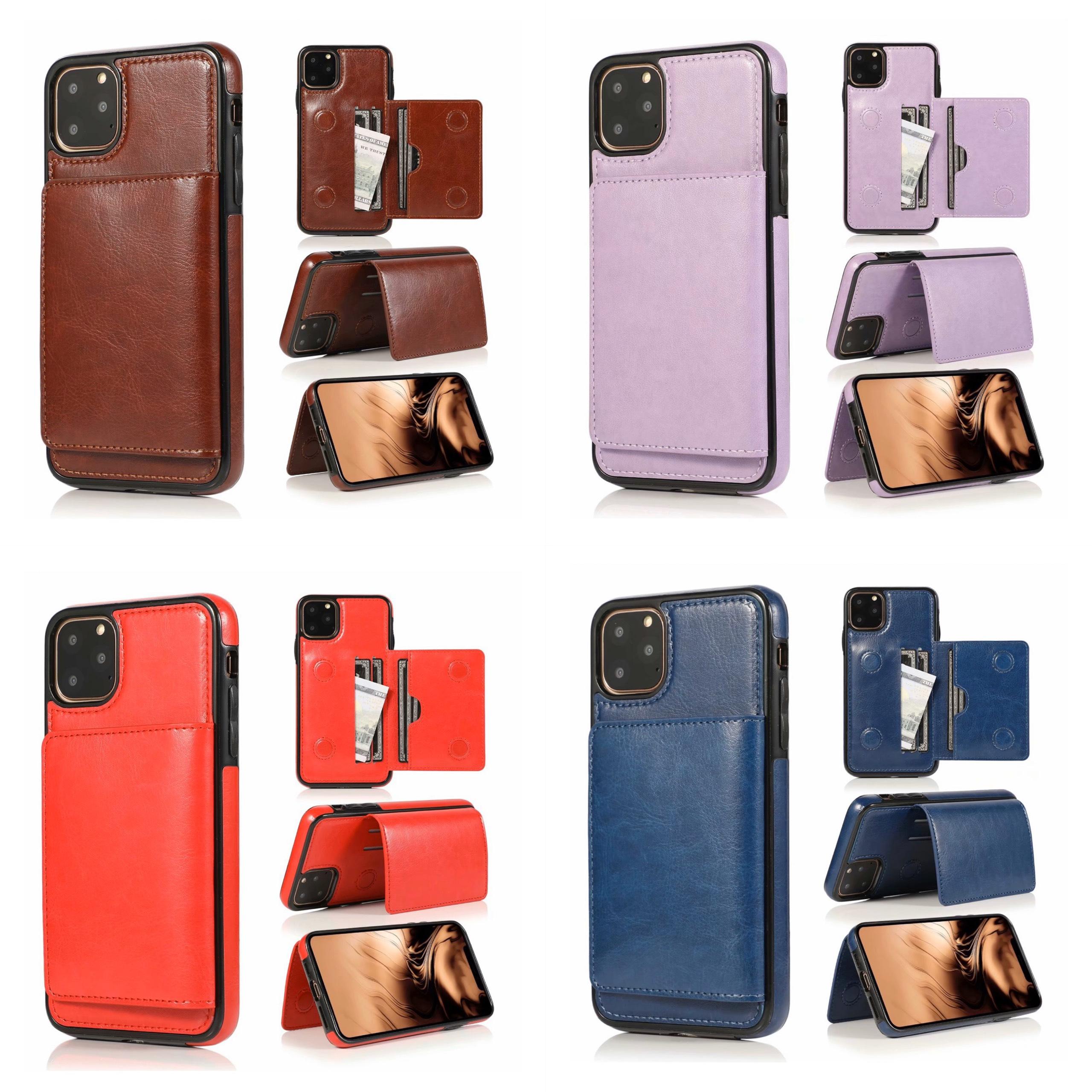 Ốp lưng kiêm ví đựng tiền, thẻ, card.. cho IPhone 11 / 11 Pro Max / Iphone Xs Max
