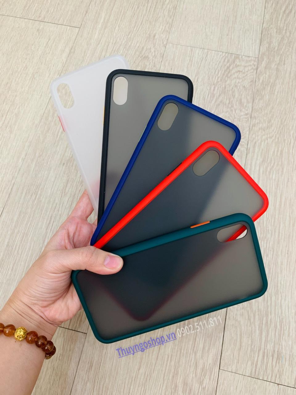 Ốp lưng chống vân tay Iphone X / XR / Xs Max