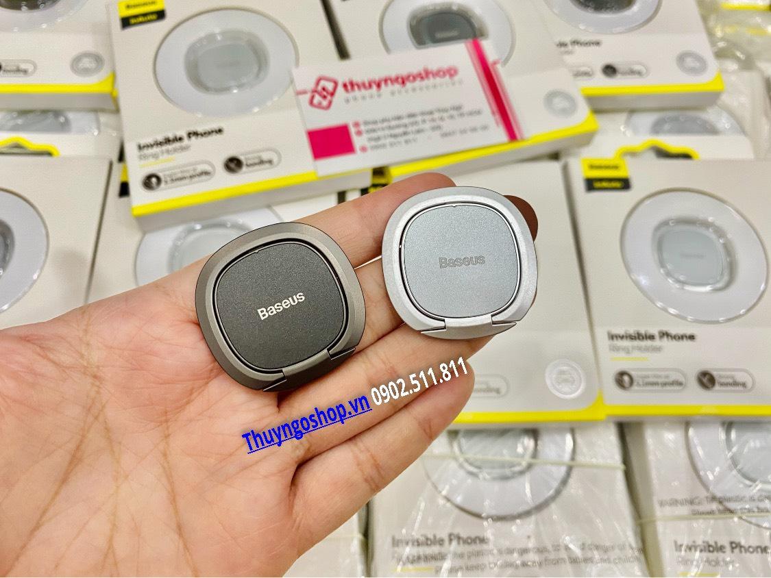 Nhẫn đeo tay chống rơi điện thoại xoay 360 độ Baseus siêu mỏng chỉ 2.1mm