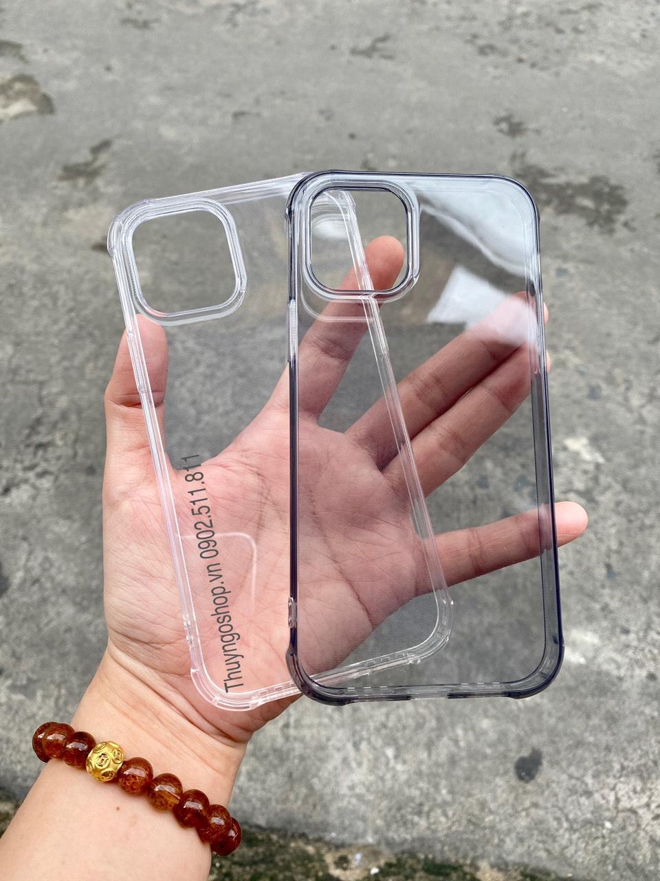 Ốp dẻo chống sốc LEEU - Iphone 12 mini