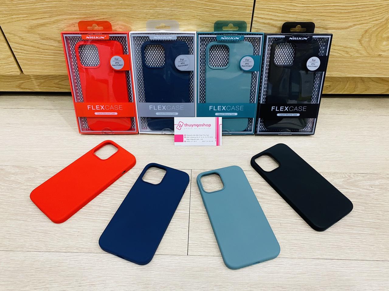 Ốp chống bẩn Nillkin Flex Pure - Iphone 12 Pro Max