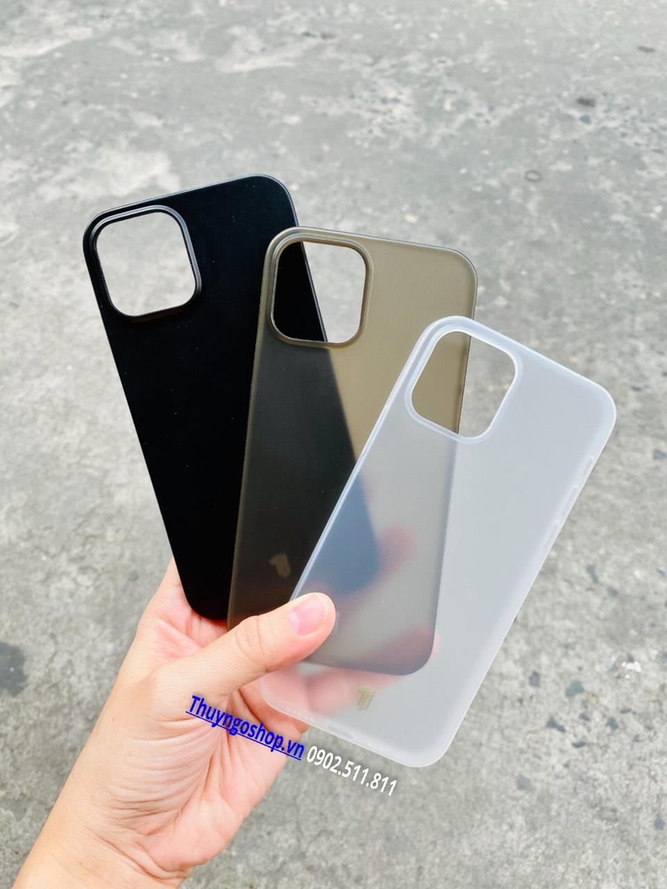 Ốp lưng nhám siêu mỏng 0.18mm X-Level Iphone 12 mini