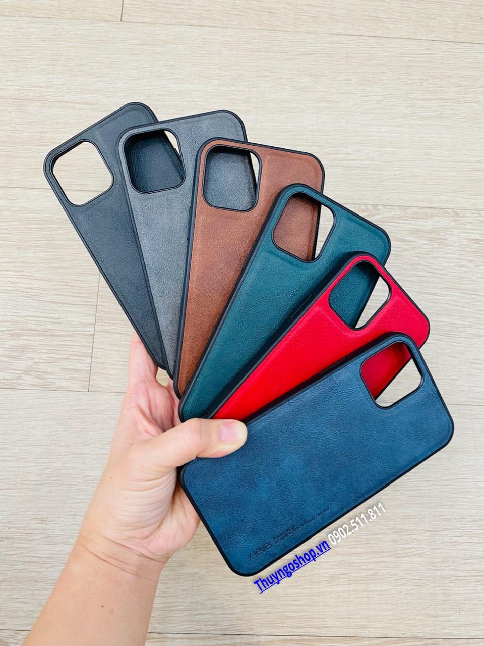 Ốp lưng Da X-Level Iphone 12 Mini