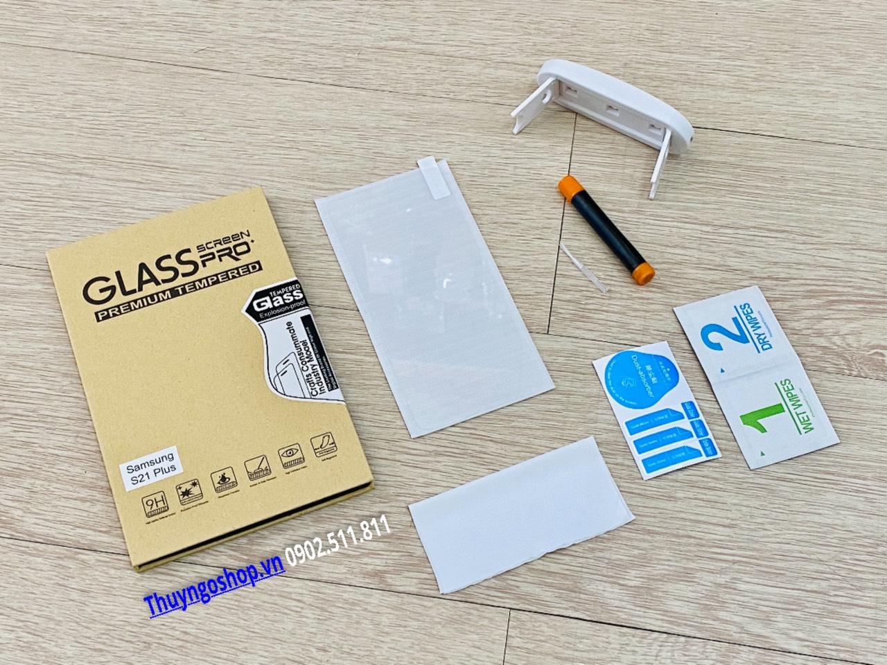Samsung S21 Plus - Kính cường lực UV (100% nhận mở khóa vân tay)