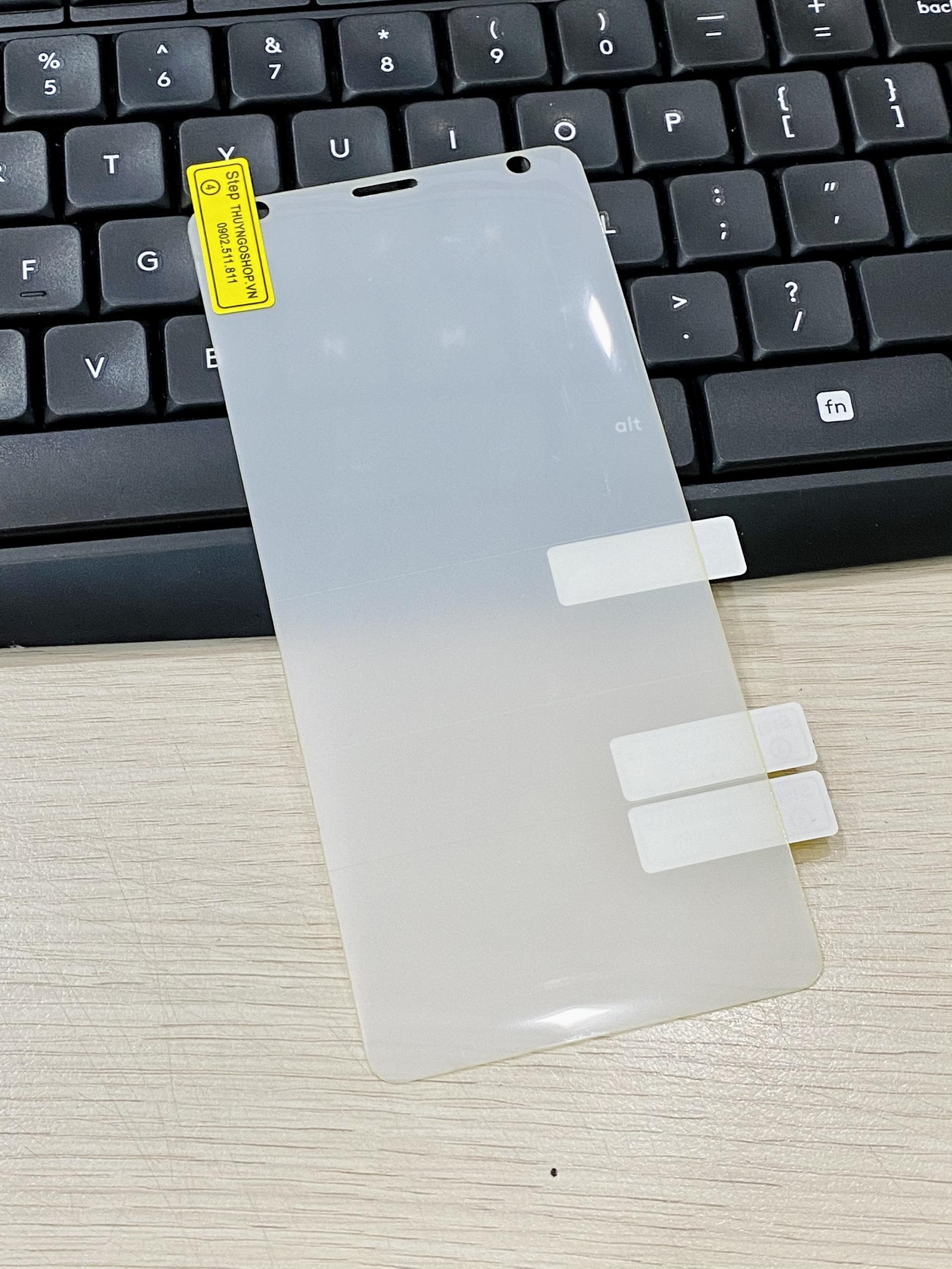 PPF dán màn hình trong suốt / nhám chống vân tay 100% Sony XZ2