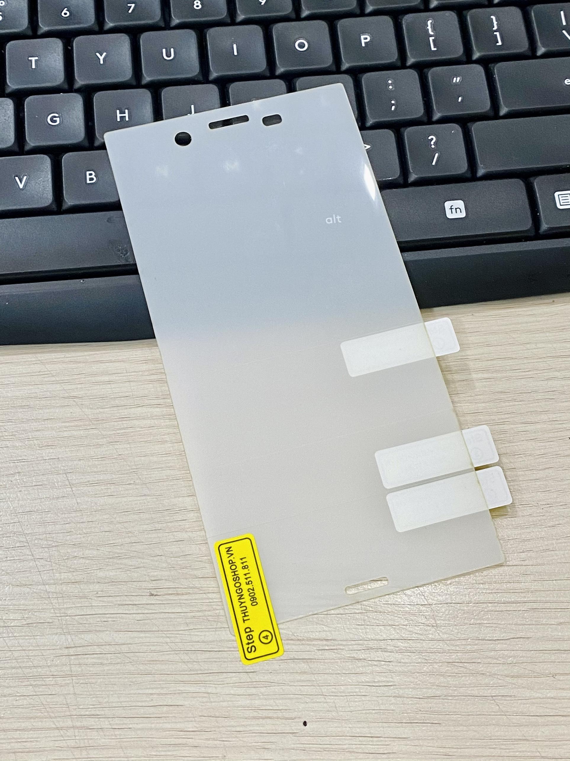PPF dán màn hình trong suốt / nhám chống vân tay 100% Sony XZ