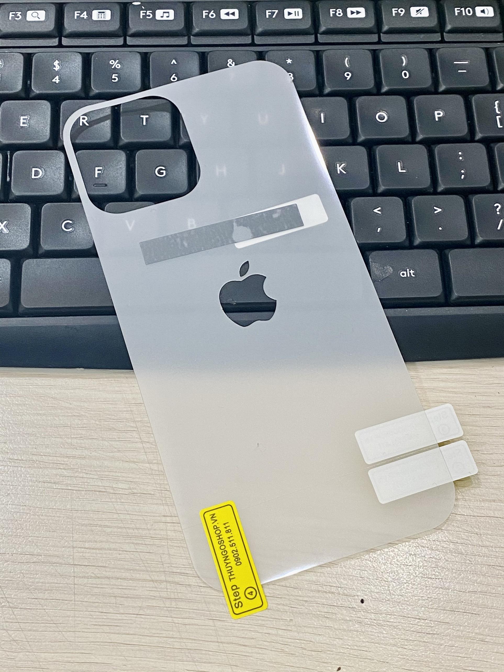 PPF dán mặt lưng Iphone 12 Mini