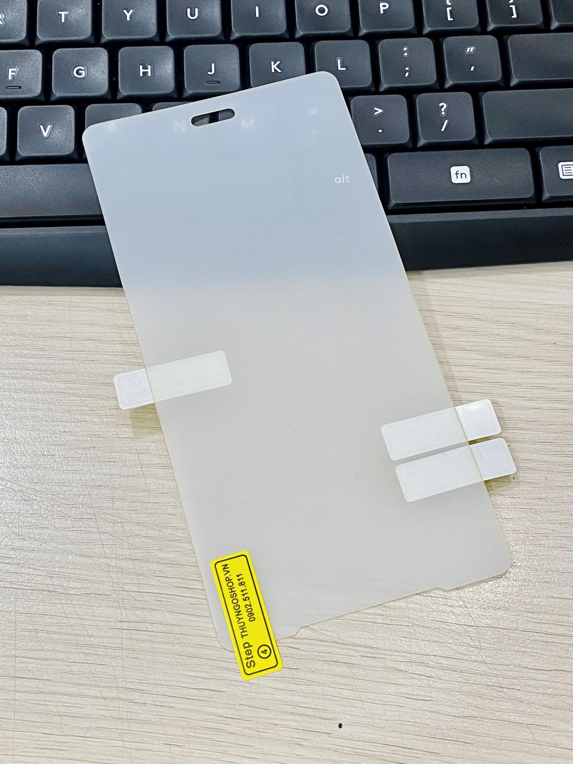 PPF dán màn hình trong suốt / nhám chống vân tay 100% Sony XZ2 Premium