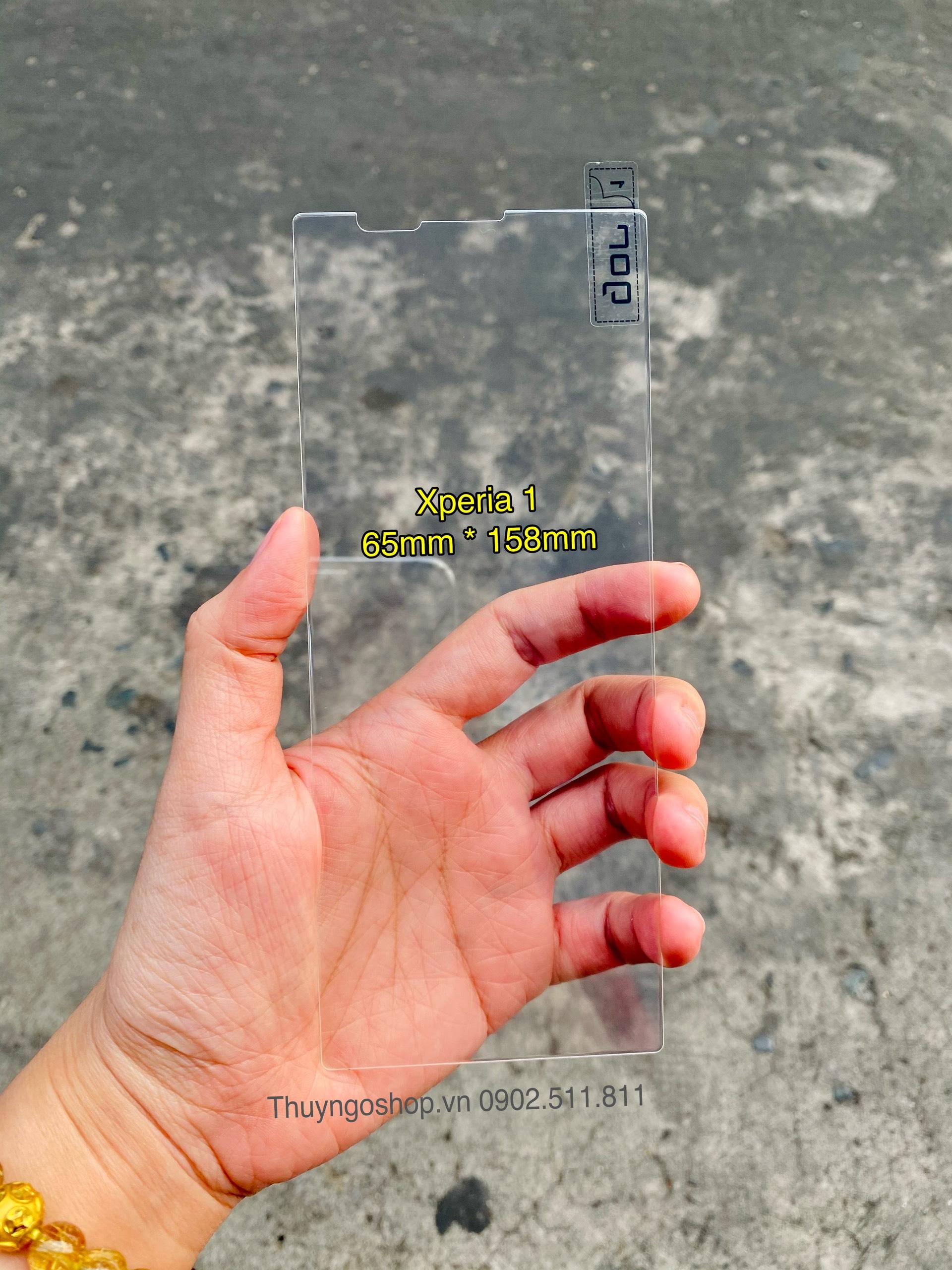 Kính cường lực trong suốt Sony Xperia 1
