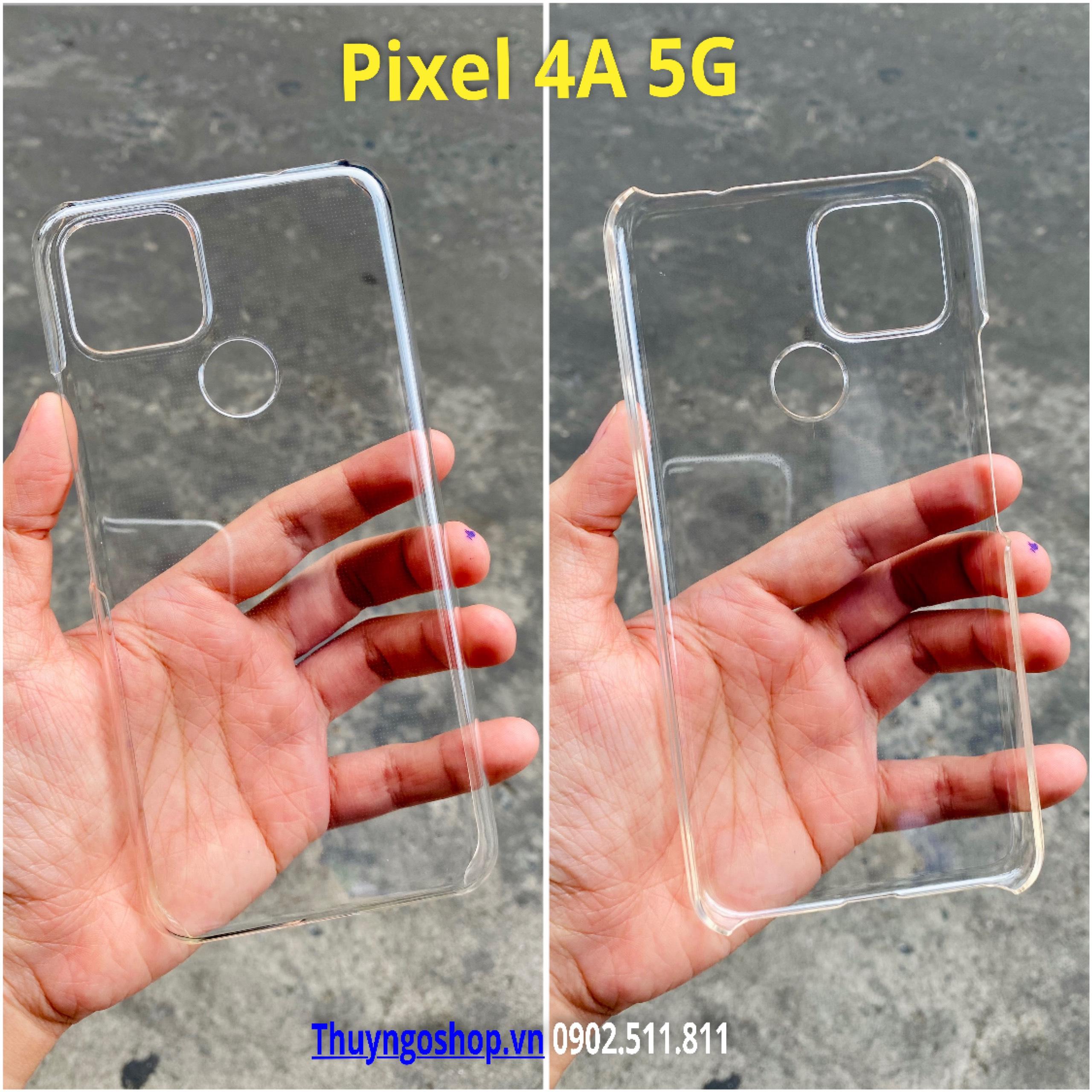 Ốp cứng siêu trong suốt Google Pixel 4A 5G