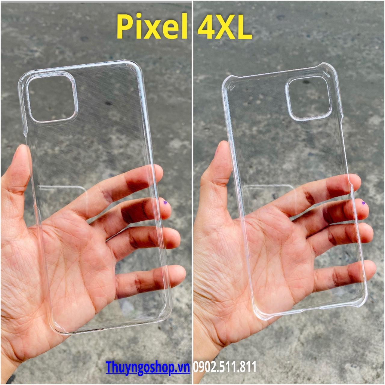 Ốp cứng siêu trong suốt Google Pixel 4XL