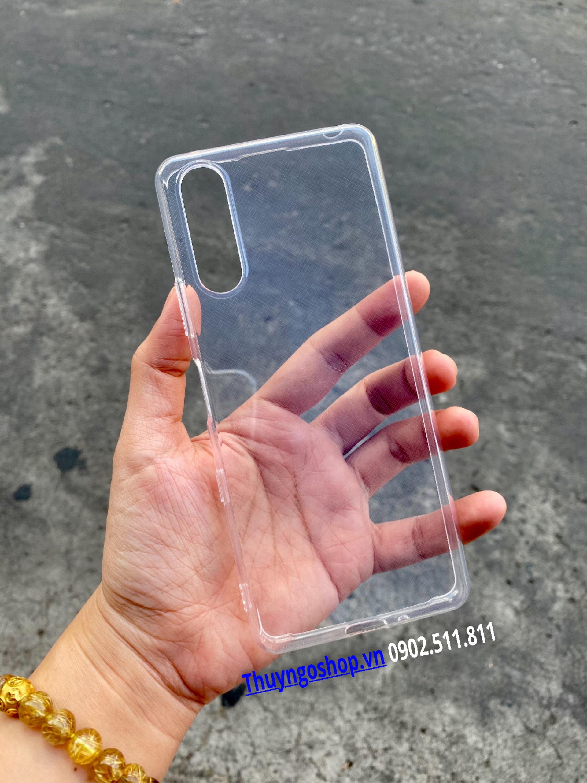 Ốp Silicon mỏng Sony Xperia 10 III
