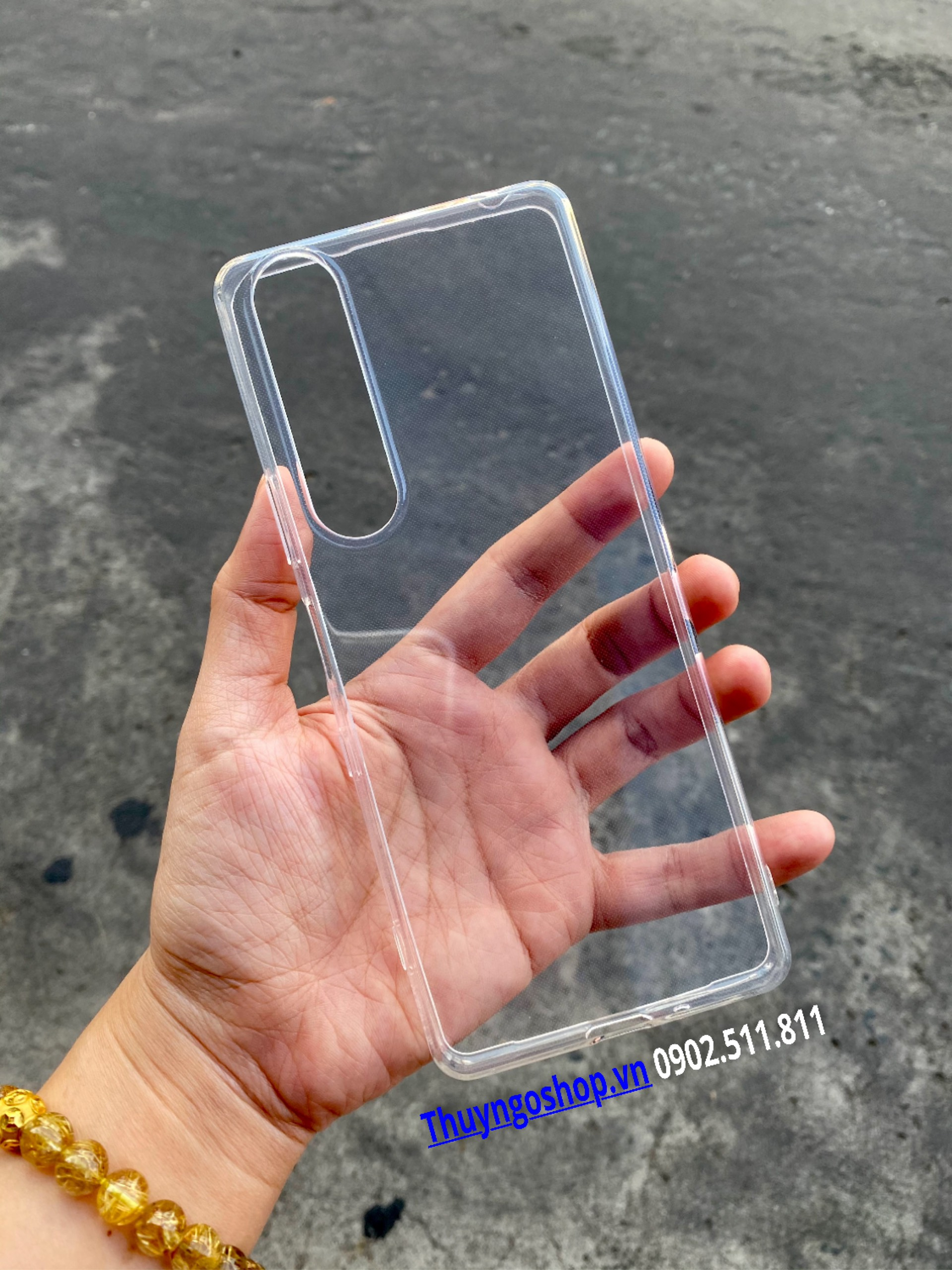 Ốp Silicon mỏng Sony Xperia 1 III