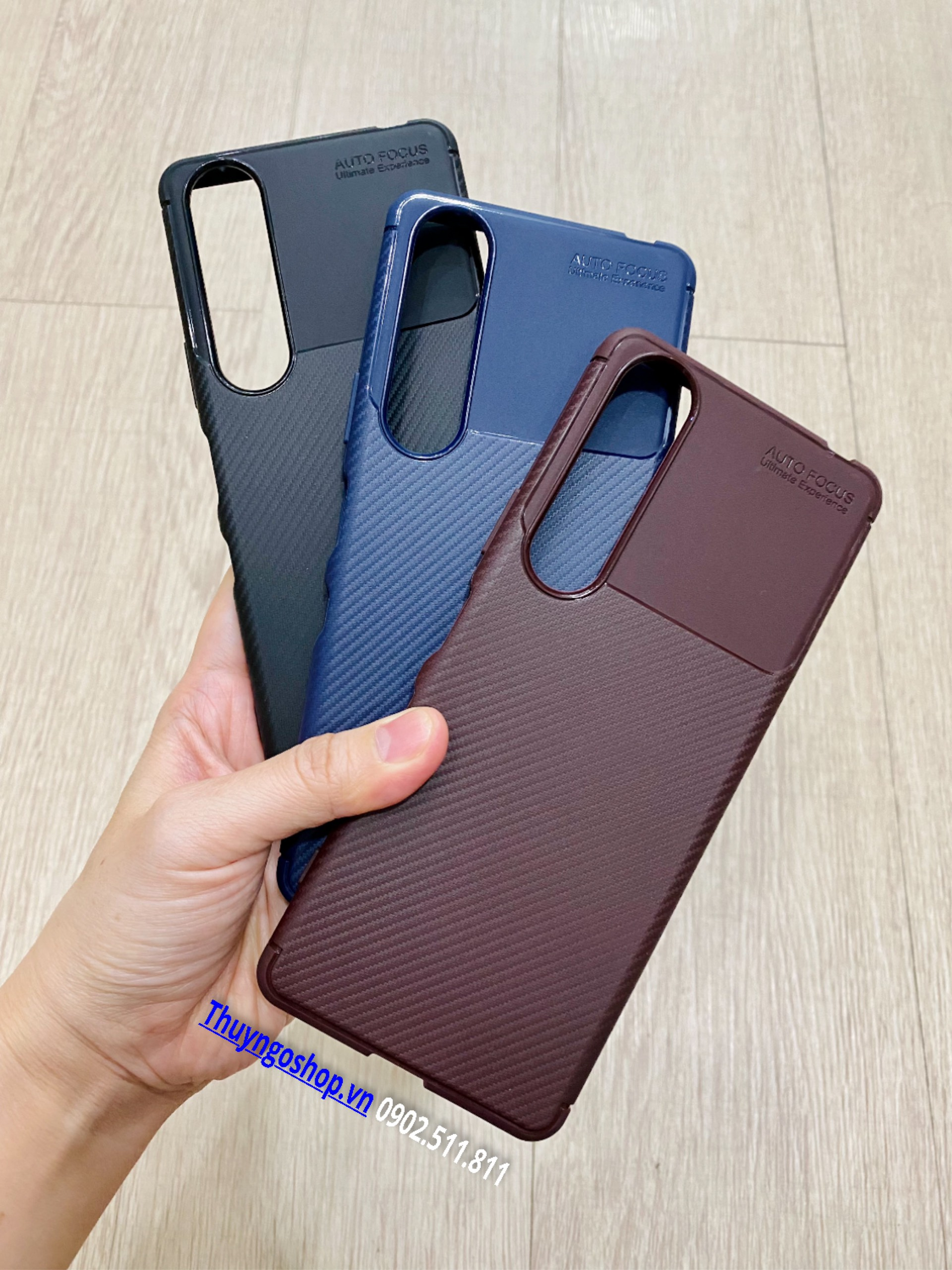 Ốp dẻo carbon chống sốc Sony Xperia 1 III