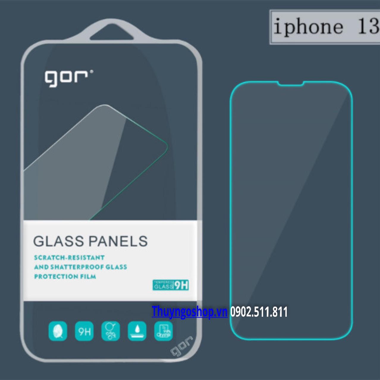 Kính cường lực GOR Iphone 13 mini