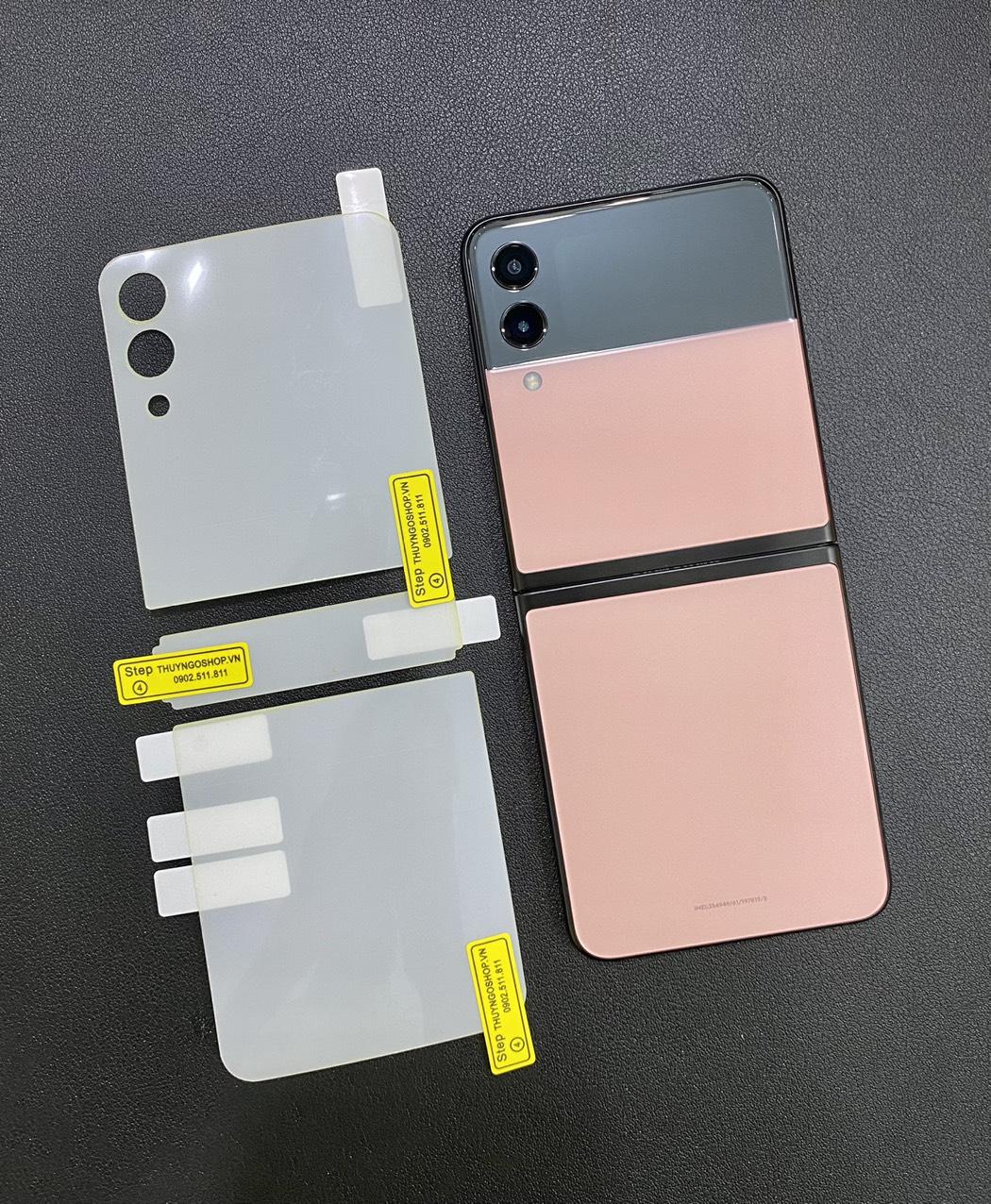 PPF mặt lưng trong suốt / mờ chống vân tay Samsung Z Flip 3