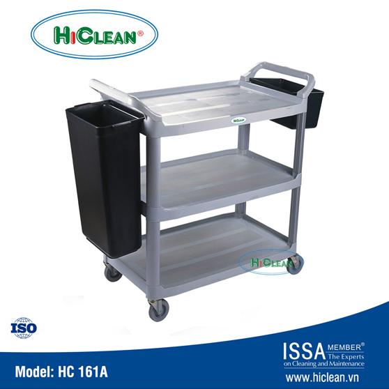Xe đẩy thức ăn 3 tầng HiClean HC 161A