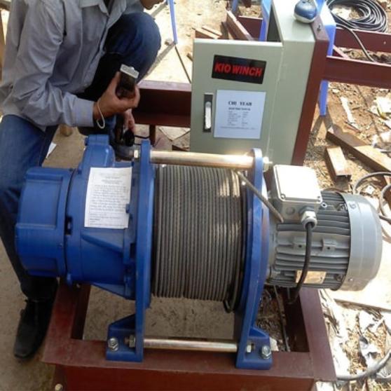 Tời điện KIO GG-1000