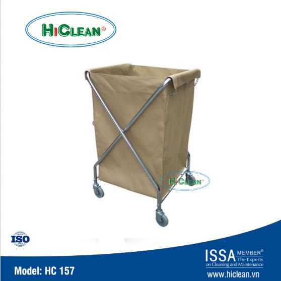 Xe đẩy đồ dơ HiClean HC 157