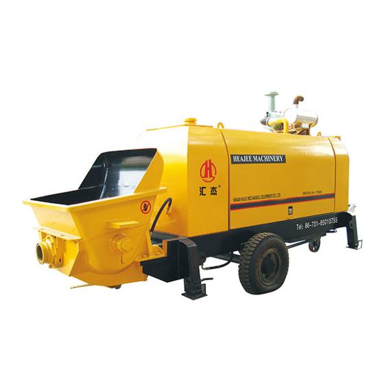 Máy bơm bê tông HBT80-13-110S