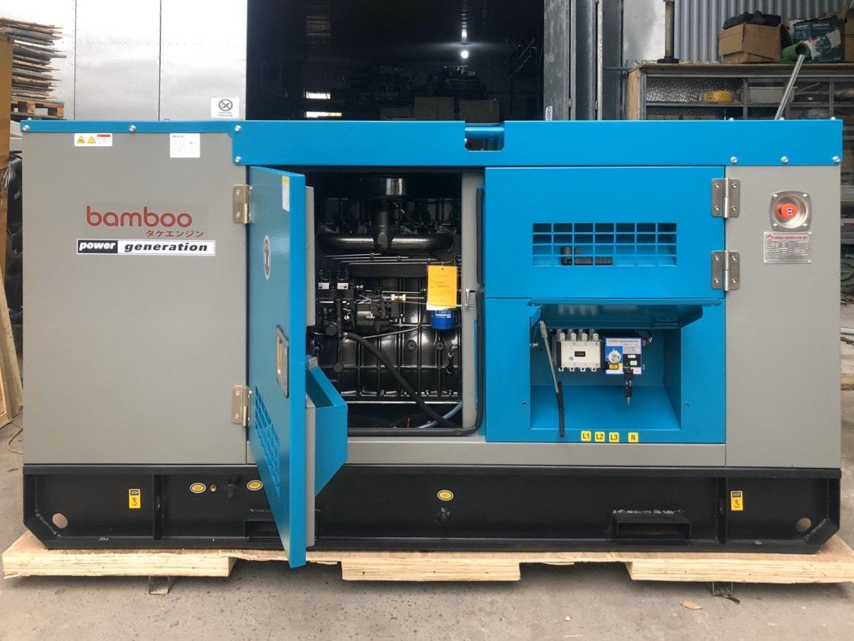 Máy phát điện Diesel BAMBOO BmB 20Euro - 20KW/3pha