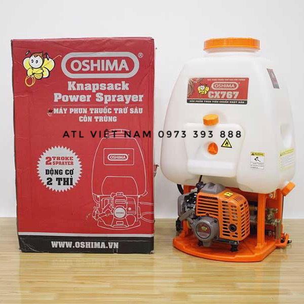 Máy phun thuốc 2 thì OSHIMA 767 CX