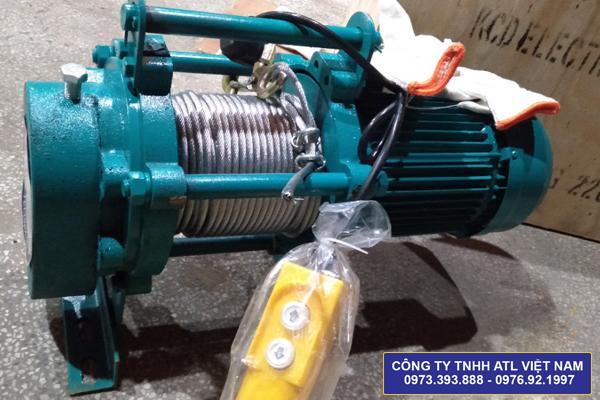 Máy tời điện đa năng Fujifa KCD 400/800 – 70m