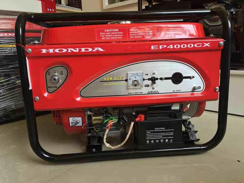 Máy phát điện Honda EP4000CX - 3kva (Đề Nổ)
