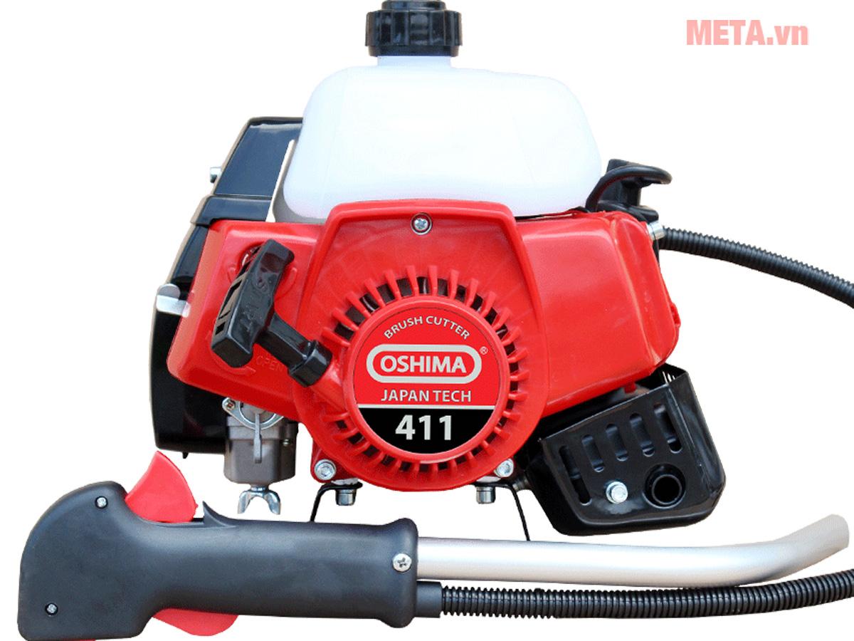Máy cắt cỏ Oshima 411 bạc