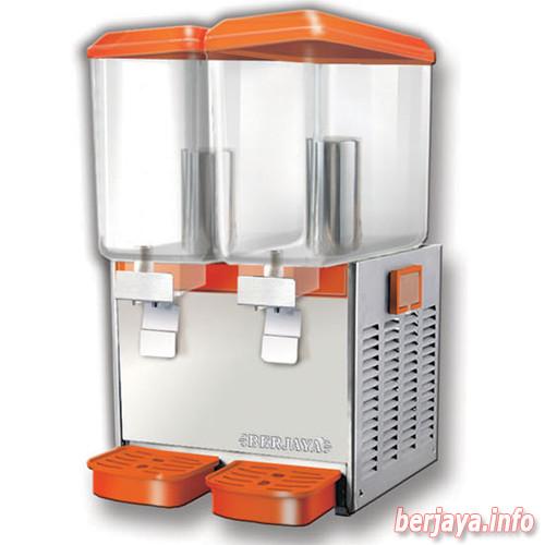 Máy giữ lạnh nước trái cây 2 bình, có trộn BERJAYA model JD218 MIX25