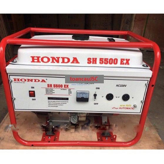 Máy phát điện Honda SH5500EX - 4.5kW (đề nổ)