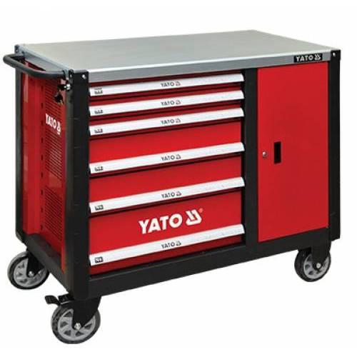 Tủ đựng đồ nghề YATO (8 ngăn - mặt trên bằng thép) YT-09002