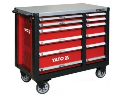 Tủ đựng đồ nghề cao cấp YATO (12 ngăn) YT-09003