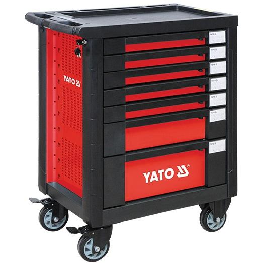 Tủ đựng đồ nghề cao cấp YATO (7 ngăn) YT-09031