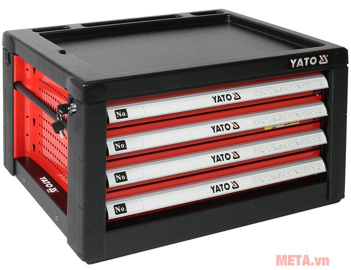 Tủ đựng đồ nghề cao cấp YATO (4 ngăn) YT-09152