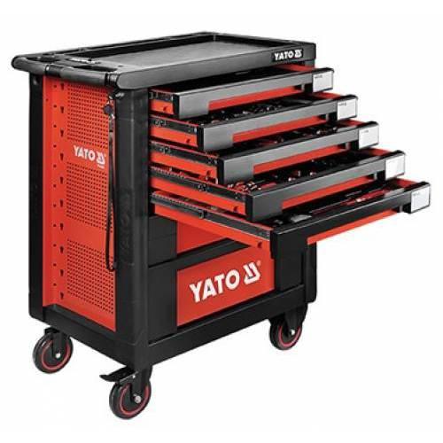 189PCS Tủ đồ nghề sữa chữa cao cấp YATO (7 ngăn) YT-55292