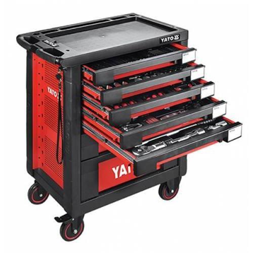 165PCS tủ đồ nghề sửa chữa ô tô chuyên dụng Yato YT-55293