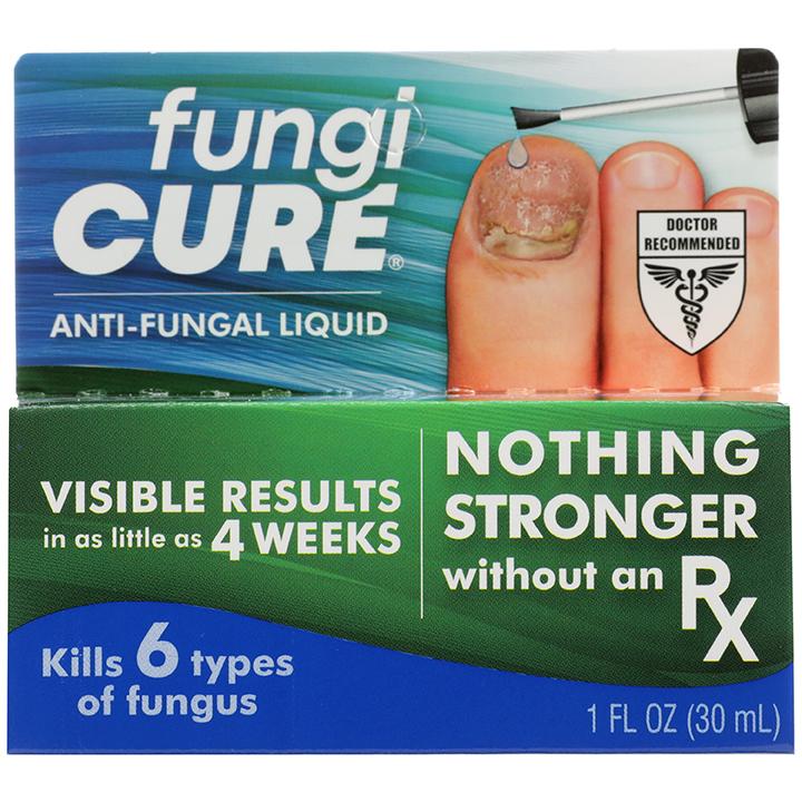Dung dịch trị nấm da, nấm móng tay chân Fungi Cure của Mỹ - chai 30ml