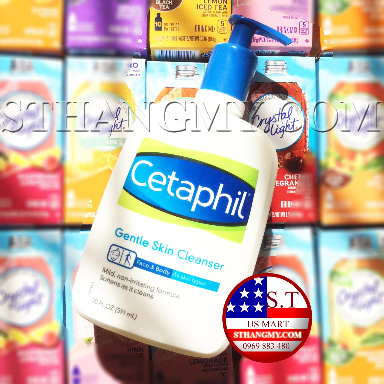 Sữa rửa mặt Cetaphil Gentle Skin Cleanser 591ml - Nhãn hiệu được bác sĩ da liễu khuyên dùng